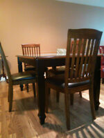 Dining Table Set - Very Good Condition
