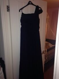Navy bridesmaid dress worn once Gosforth size 16 Rrp £200