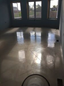 Custom polished screed floor