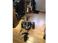 Motocaddy S3 pro series golf trolley