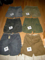 Selection of Men's American Eagle Cargo Shorts Size 31-36
