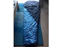 Single sleeping bag & self inflating mat for sale