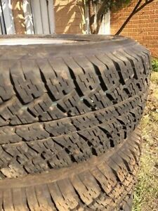Set of 5 tyres 225/75/16 Rivervale Belmont Area Preview