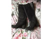 Boots all size 4 £5 each