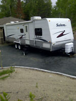 Salem LE 30BHBS double slide bunkhouse *REDUCED*
