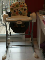 Swing that turns into Highchair - Fisher Price
