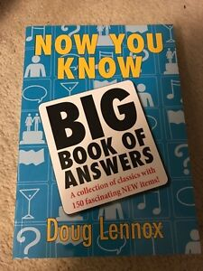 Big Book of Answers - Doug Lennox Edmonton Edmonton Area image 1