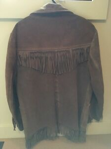 Genuine Buckskin Winnipeg Leather Jacket Strathcona County Edmonton Area image 2