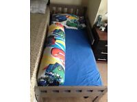 Junior bed and mattress.