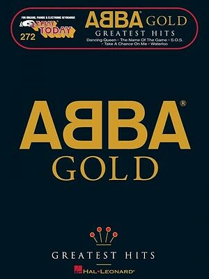 Abba Gold Greatest Hits Sheet Music E Z Play Today Book New 000101425