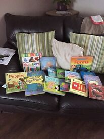 A selection of usborne books
