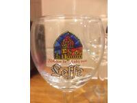 Leffe beer glasses