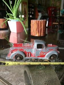 Old Vintage Metal Fire Truck London Ontario Fire Department Stratford Kitchener Area image 1