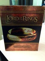 Lord of the Rings Trilogy Box Set Extended version Blu-Ray