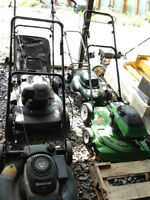 Refurbished lawn mowers for sale!