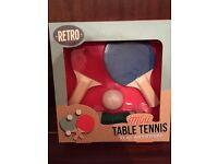 Mini table tennis set!