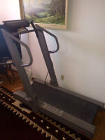 Rowing Machine and Treadmill
