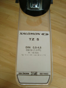 Salomon TZ5 Junior Ski Bindings- Brand New Still on Orig.Package Kitchener / Waterloo Kitchener Area image 5