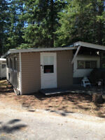 Seasonal trailer - Granite Lake, ON