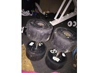 2 X 40kg commercial dumbells