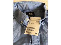 2 X H&M men's shirts