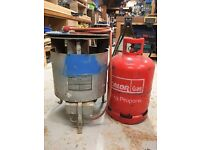 Bullfinch industrial gas space heater, with full tank of propane