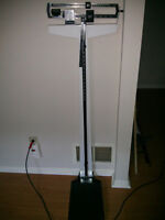 Standing Height & Weight Scale for Sale from a Student House