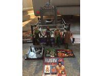 WWE figures & Wresting Ring