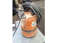 Tsurumi submersible pump 110v