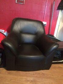 Black arm chair FREE