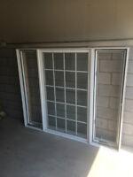 Fenêtres et porte patio