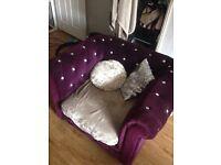 Stunning diamond sofas