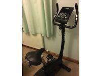 Reebok ZR9 digital exercise bike, perfect condition