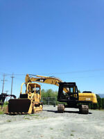 320 Cat Excavator for Hire - Day Rates/Project Pricing