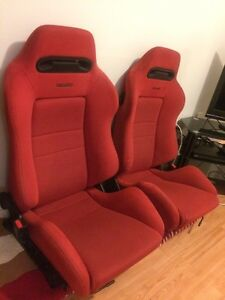 Red recaro civic ek9 integra dc2 seats