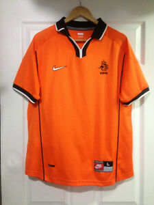 NIKE Official Dutch (The Netherlands) Soccer Jersey
