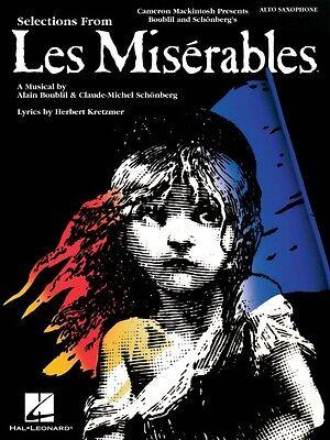Les Miserables Instrumental Solos for Alto Sax Instrumental Solo Book  000849018