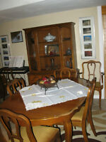 DINING ROOM SET- FRENCH PROVINCIAL STYLE
