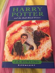 Harry porter and first blood prince first edition