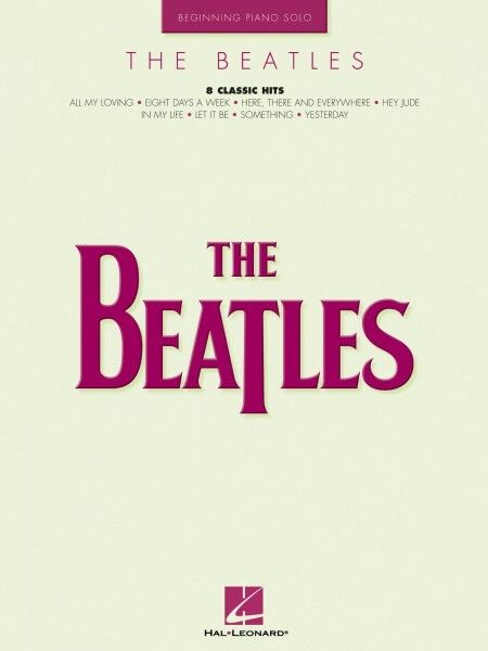 The Beatles Sheet Music Beginning Piano Solo Songbook NEW 000306568