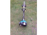 TESCO PETROL GRASS STRIMMER WORKS GREAT CAN BE SEEN WORKING CB5 £45