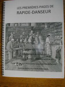 Livre document souvenir Rapide Danseur