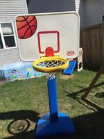 little tikes basket ball hoop