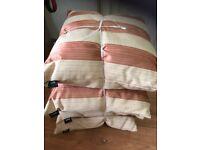 Quality Set of 4 cushions by fleur £10 set