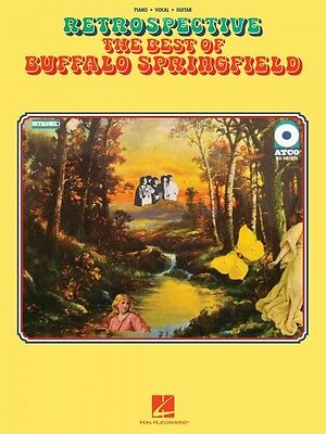 Retrospective: The Best of Buffalo Springfield Sheet Music Piano Vocal 000110226