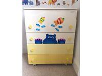 Nursery Wardrobe and children's dresser