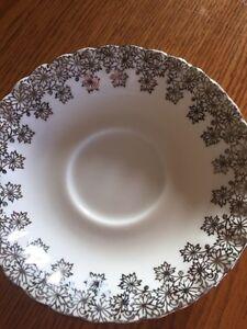 Royal Albert silver wedding tea cup and saucer  Windsor Region Ontario image 4