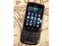 Blackberry 9800 Touchscreen Smartphone Unlocked to all Networks Fully Working Can Deliver
