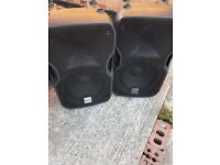 Alto TS112A 800w (each) Active Speakers