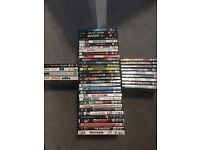 Collection of 53 DVDs